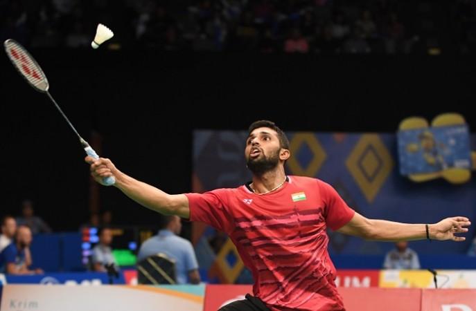 HS Prannoy, badminton, Indonesia Open, Kazumasa Sakai, semifinals