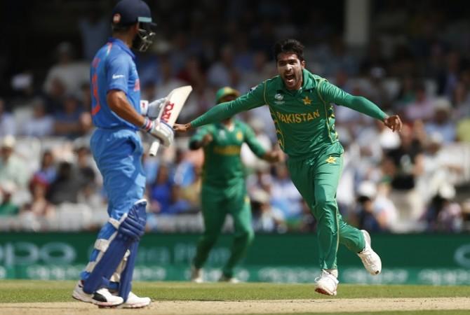 Virat Kohli, India, Mohammad Amir, Pakistan, CT 2017
