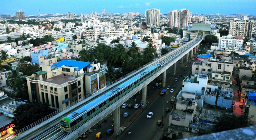 bangalore metro, bangalore, namma metro, green line, purple line, stations on green line, stations on purple line