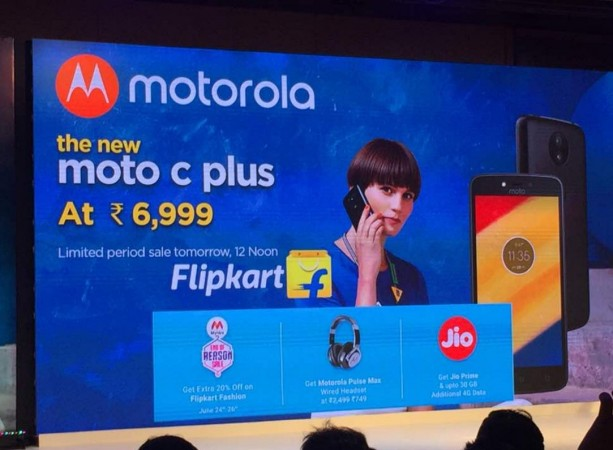 Lenovo, Moto C Plus, India, price, specifications,