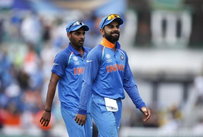 Virat Kohli, Bhuvneshwar Kumar, India, West Indies, ODI series