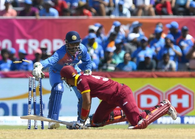 MS Dhoni, India, Lendl Simmons, West Indies, limited-overs series