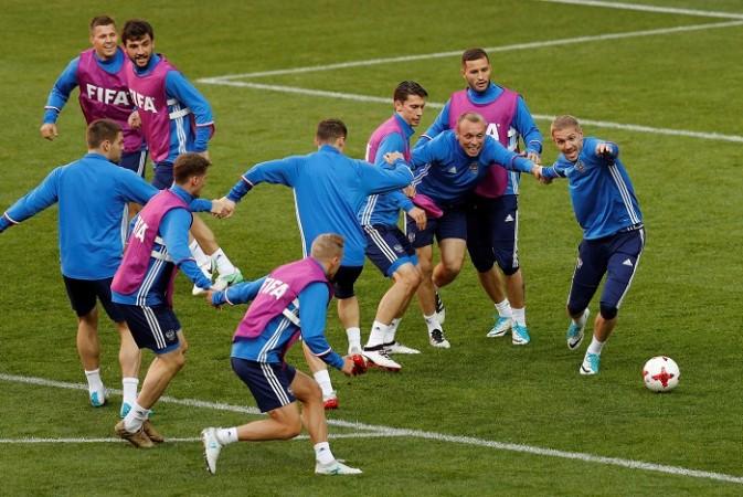 Russia vs Portugal, Russia vs Portugal Confederations Cup 2017,  Confederations Cup 2017, Cristiano Ronaldo, Fedor Smolov