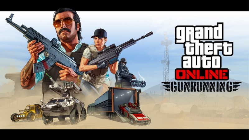 GTA 5 Gunrunning update