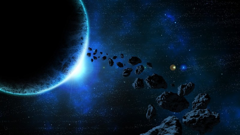asteroid, Earth, collision, space,