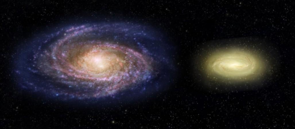 nasa, Dead disk galaxy, Milky Way, galaxy, space,