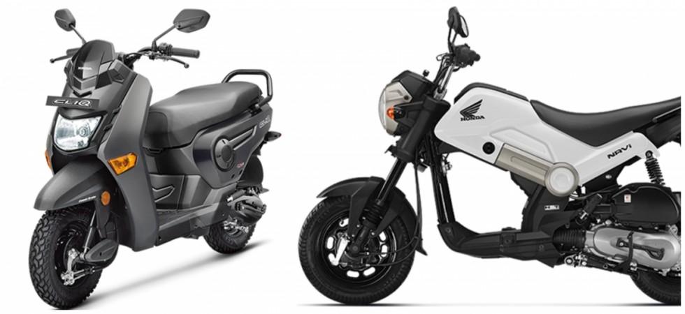 Honda Cliq Vs Honda Navi: Specification comparison ...