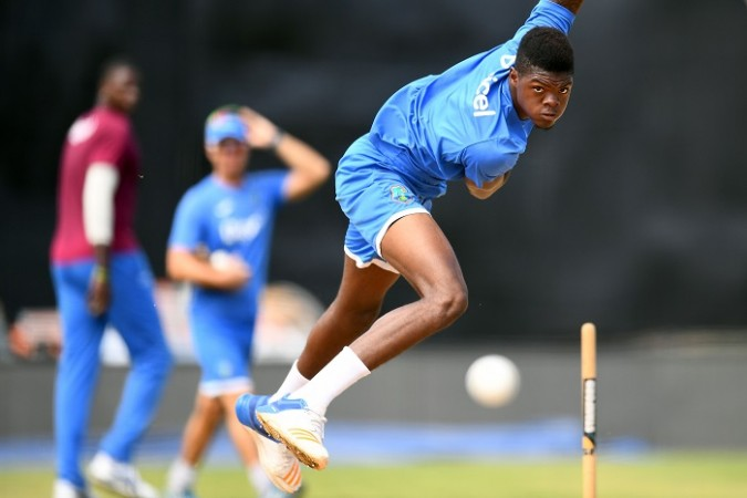 Alzarri Joseph, West Indies, India, first ODI, cricket match