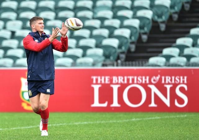 Owen Farrell British And Irish Lions New Zealand 1st Test Eden Park