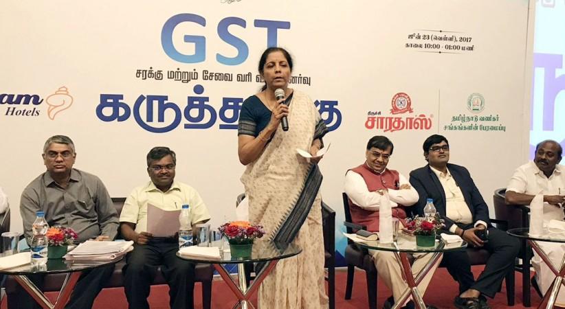 gst, gst rates, nirmala sitharaman, gst 0 percent, gst tax exempt, gst council, gst registration, gst modi govt, gst special session of parliament