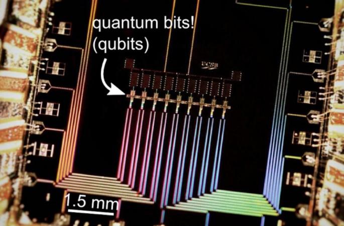 Google quantum computing chip