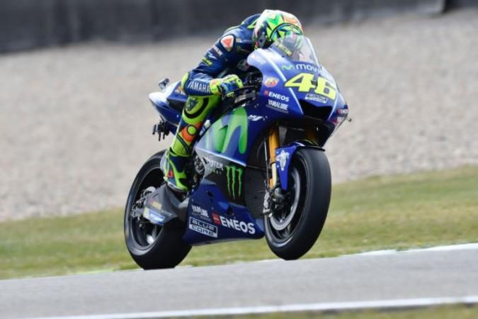 Valentino Rossi racing at Motul TT Assen