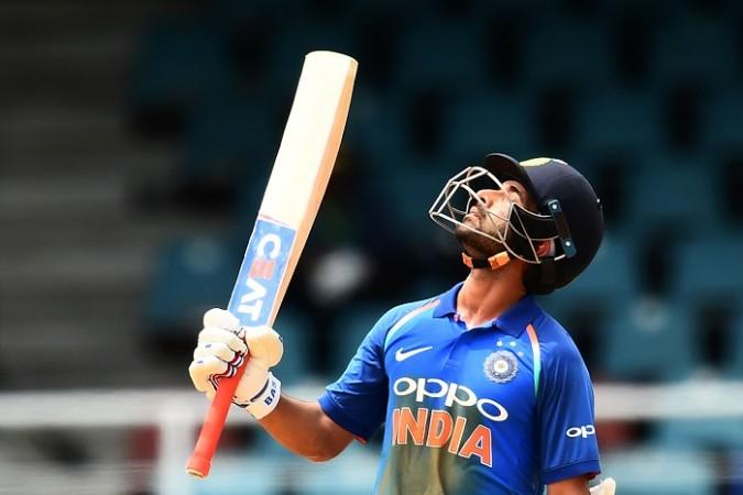 Ajinkya Rahane, century, India, 2nd ODI, West Indies
