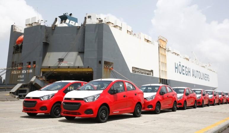 GM India exports, Beat sedan, Chevrolet essentia