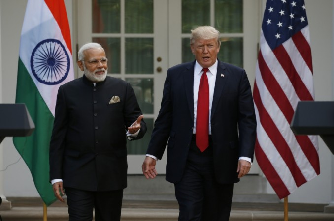 Modi Trump, Modi in US