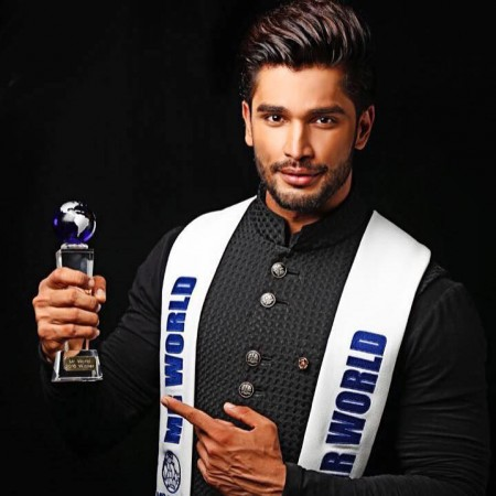 Mr World 2016 Rohit Khandelwal