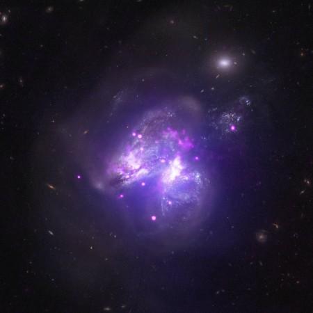 nasa, Chandra X-ray observatory, Galactic Goulash, galaxy, space,