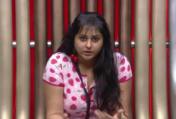 Namitha in Bigg Boss Tamil Confession Room