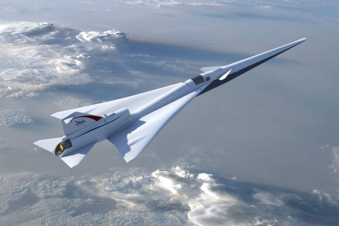 NASA supersonic X-Plane