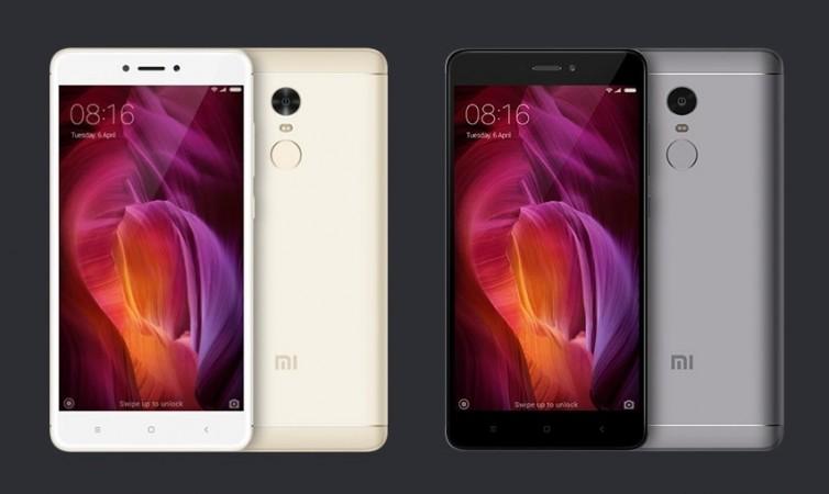 Xiaomi Redmi Note 4 as seen on Mi website