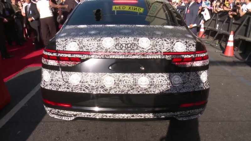 Camouflaged 2018 Audi A8 Makes A Guest Appearance At Spider Man