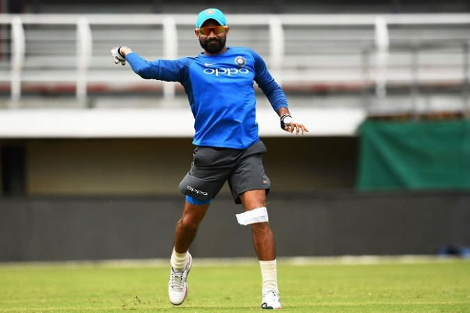 Mohammed Shami India West Indies 4th ODI series