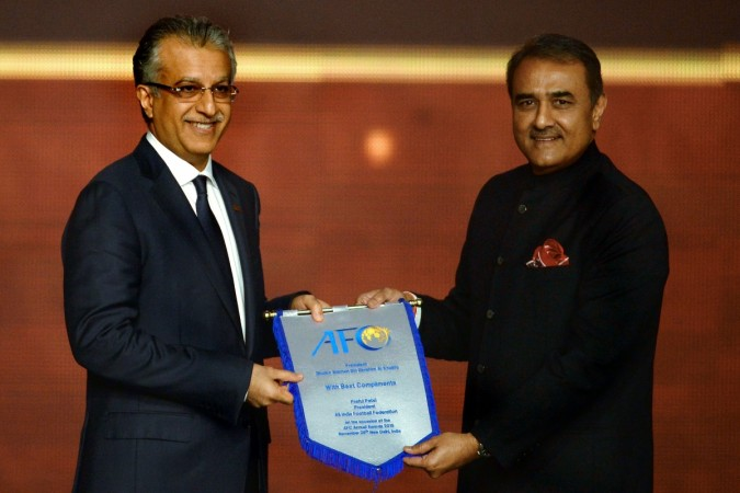 indian football , praful patel