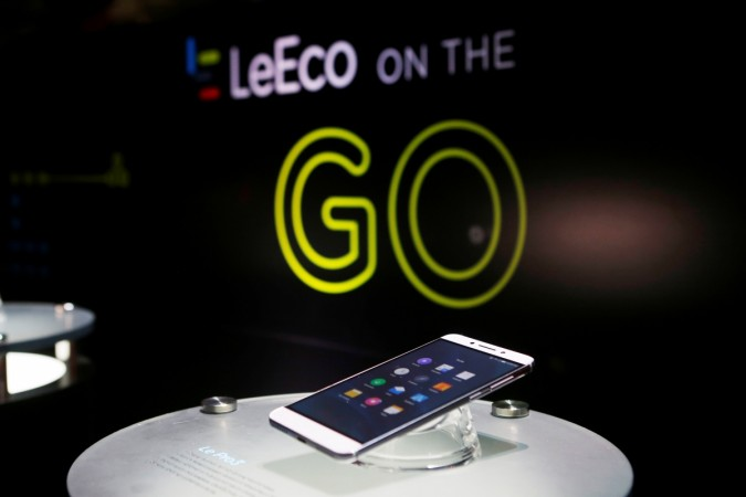 LeEco smartphones are bundled with the company's content ecosystem to deliver entertainment on the go