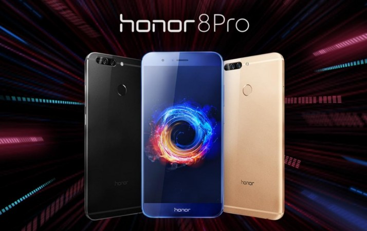 Huawei Honor 8 Pro as seen on the official website