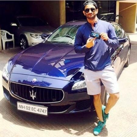 Sushant Singh Rajput's Maserati Quattroporte
