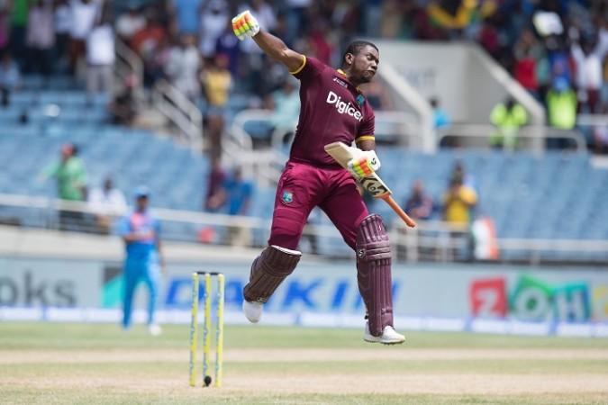 Evin Lewis, century, West Indies, India, T20