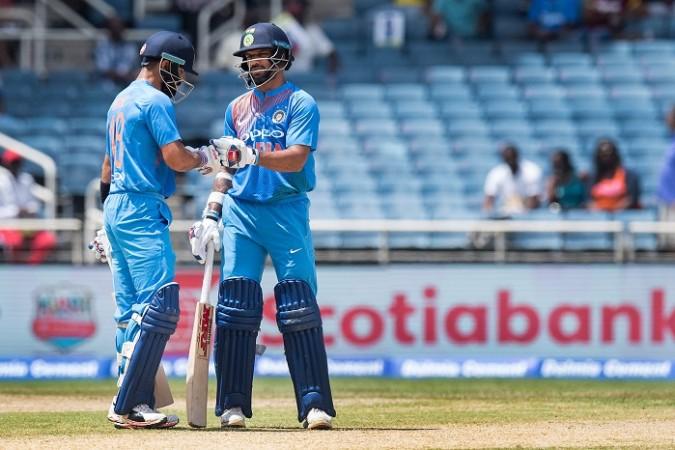 Virat Kohli, Shikhar Dhawan, India, West Indies, T20