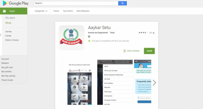 Aaykar Setu, mobile app, India,launch, features,