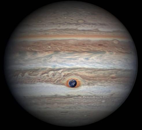 Jupiter, steam world,