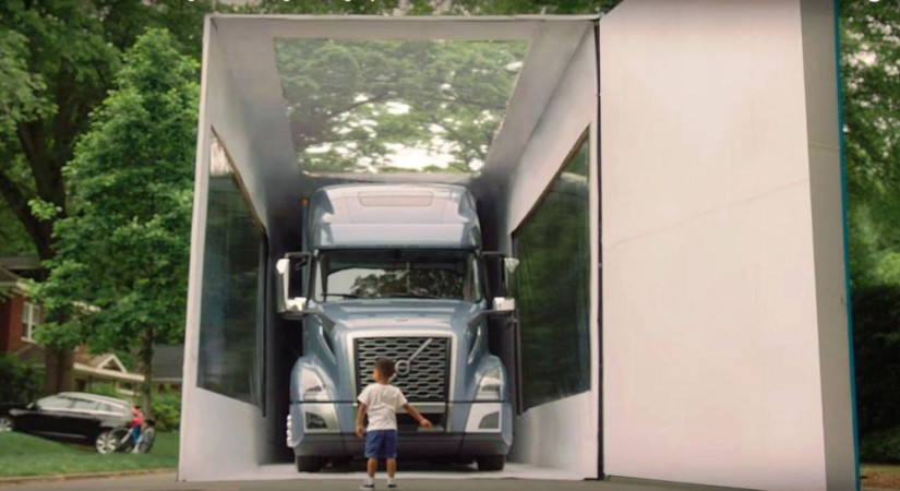 Largest unboxing of an object, Guinness World Record, Volvo trucks