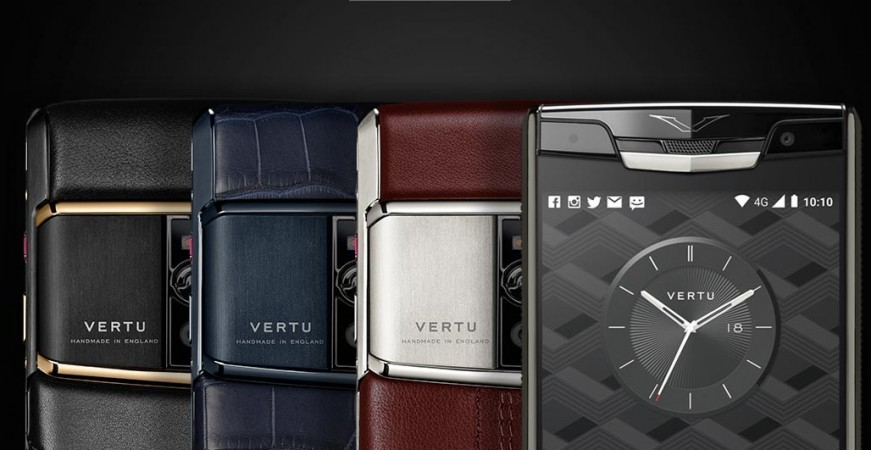 Vertu Signature Touch as seen in its official website