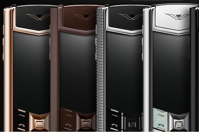 Vertu Signature as seen on its official website