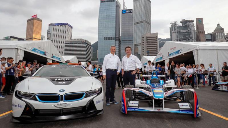 BMW to Formula E