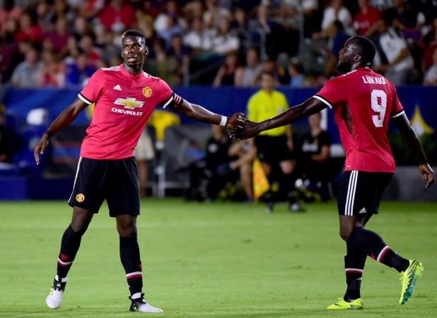 Paul Pogba, Romelu Lukaku, Manchester United, International Champions Cup 2017