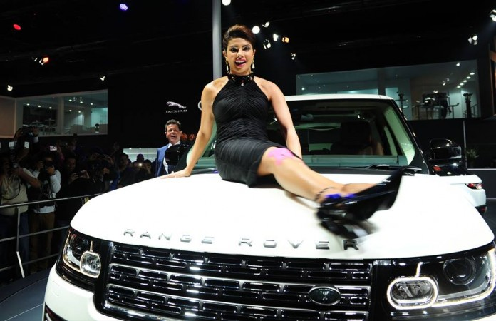 Priyanka Chopra and car collection