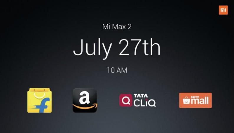 Xiaomi Mi Max 2 online sale