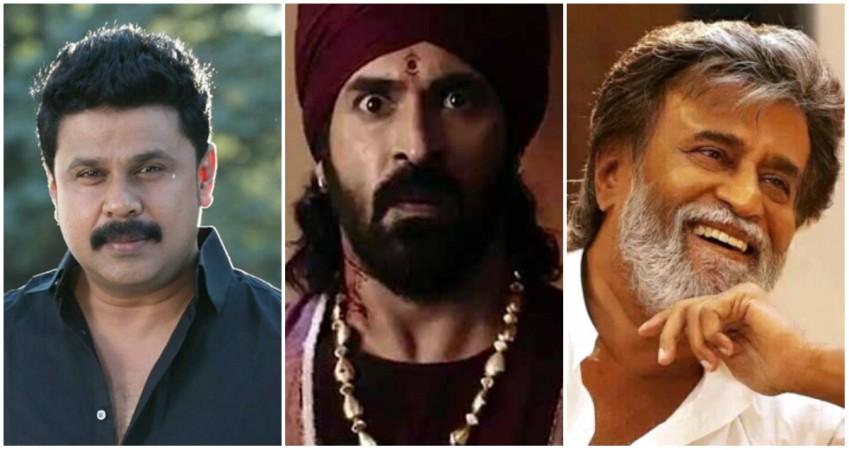 Dileep, Subbaraju and Rajinikanth