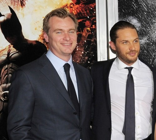 Christopher Nolan and Tom Hardy