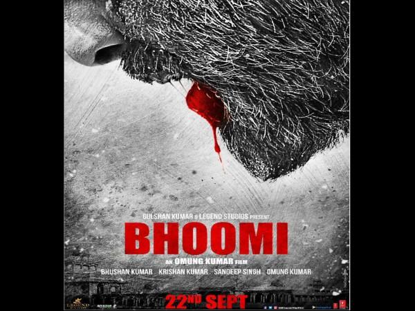 Sanjay Dutt's Bhoomi teaser poster