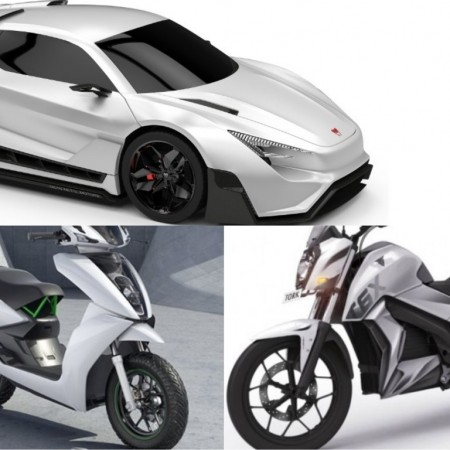 Electric vehicles from Indian companies