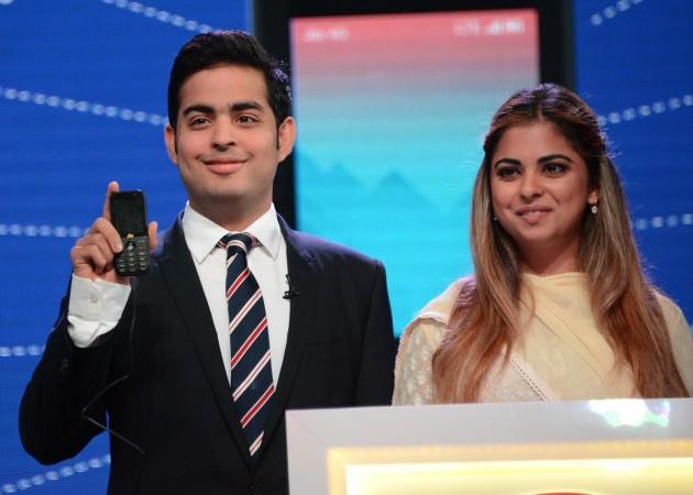 Akash and Isha Ambani