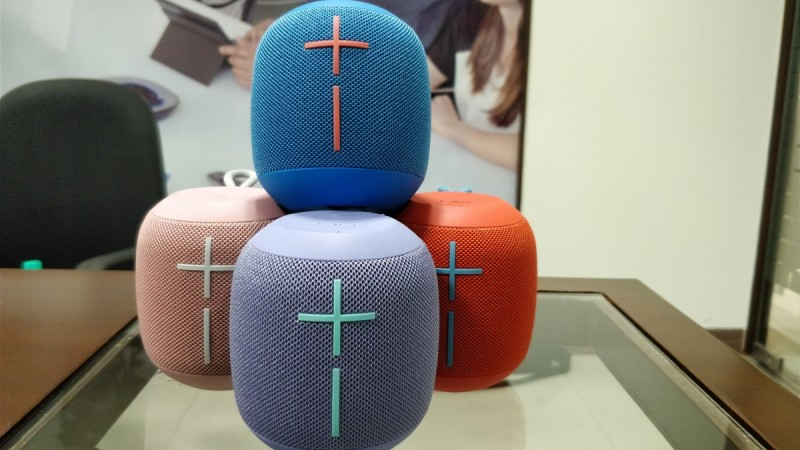 Logitech UE Wonderboom speakers