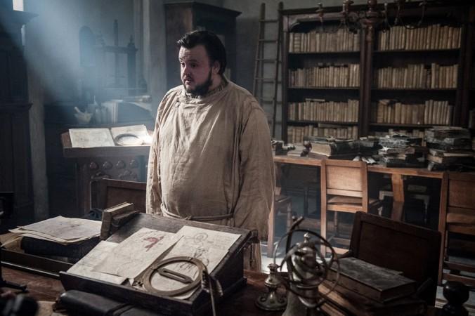 John Bradley-West as Samwell Tarly