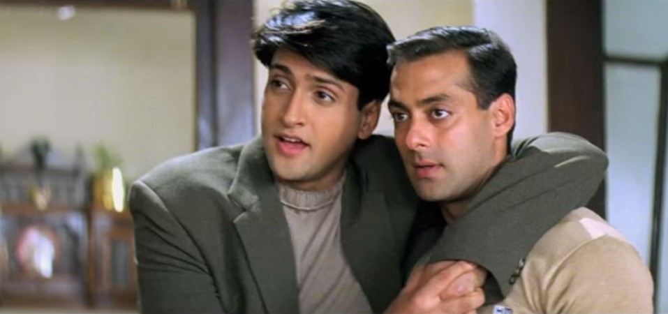 Inder Kumar and Salman Khan