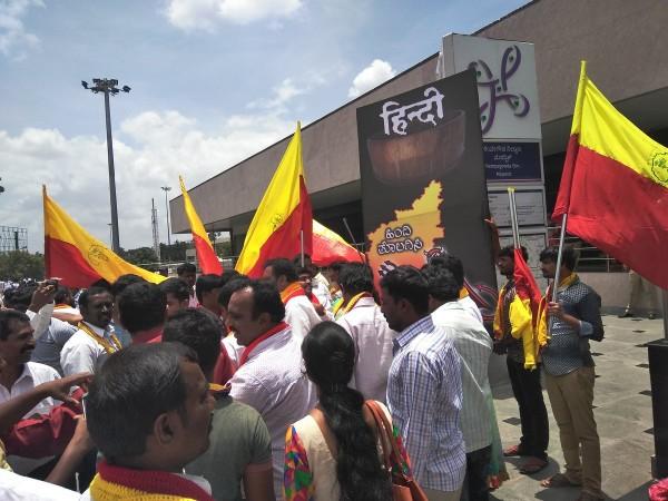 Pro-Kannada protests